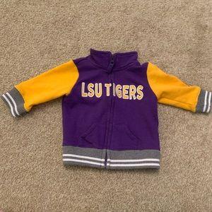 LSU Zip Up Jacket